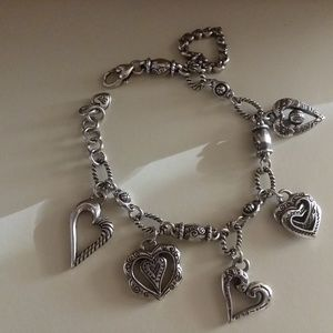 Brighton Heart Charm Bracelet